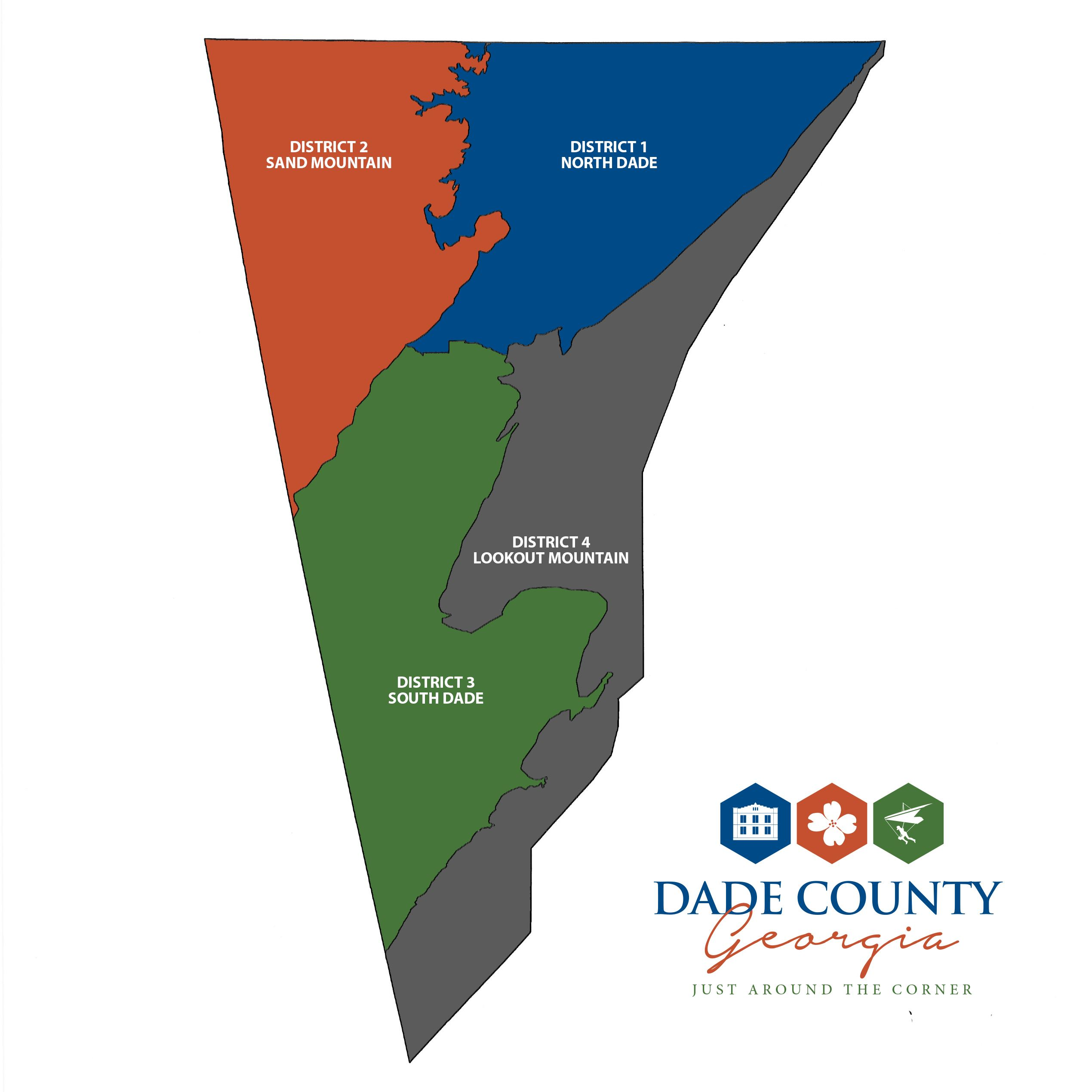DADE COUNTY 2008- Districts