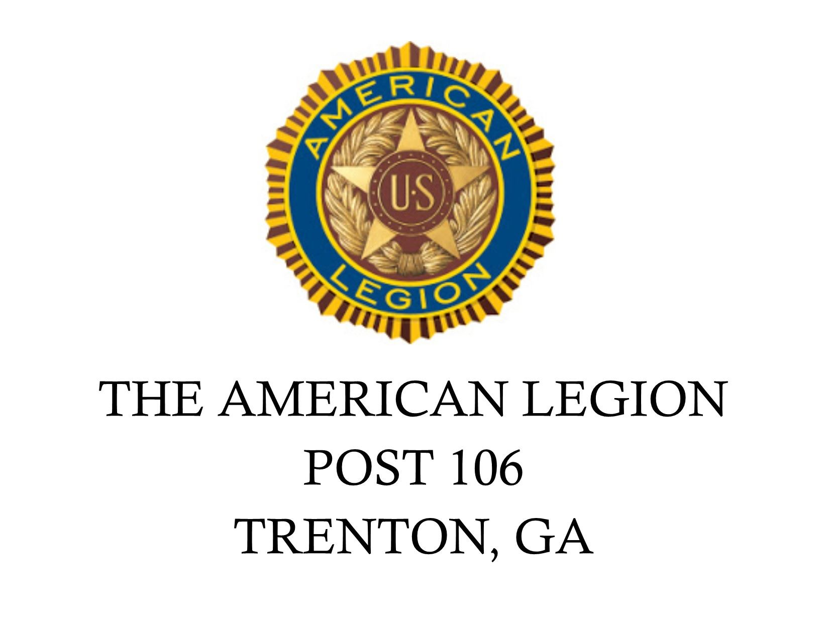 American Legion POST 106 Logo