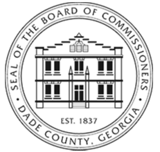 Seal of the Board of Commissioners Dade County GA