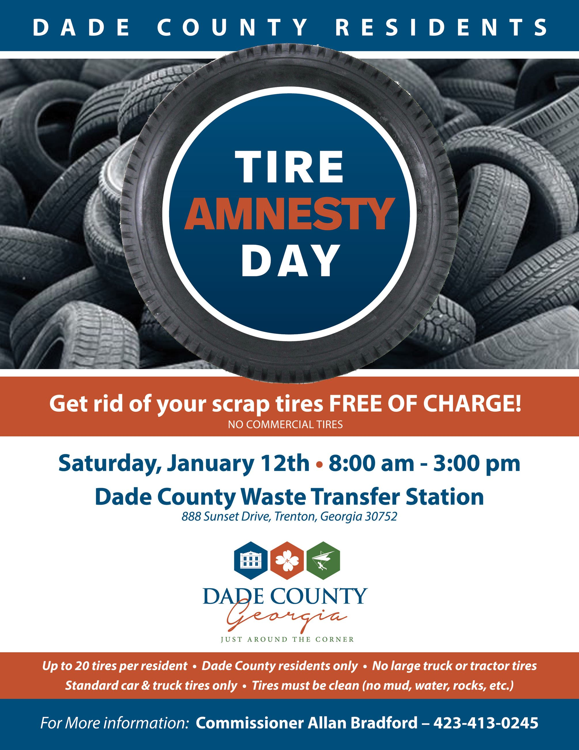 Tire Amnesty Day 2019